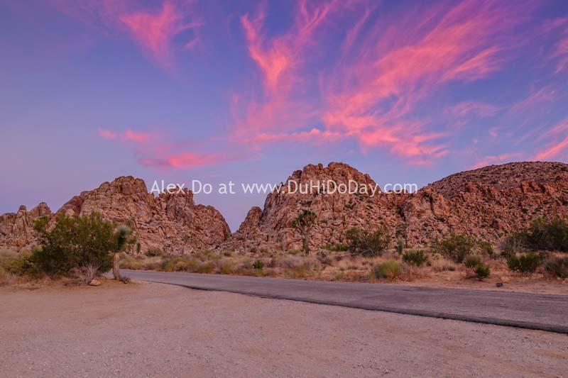 Núi đá ở Joshua Tree