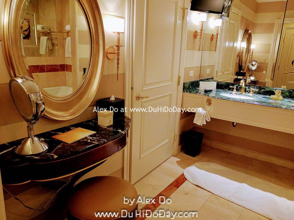 Phòng suite ở khách sạn The Venetian Las Vegas