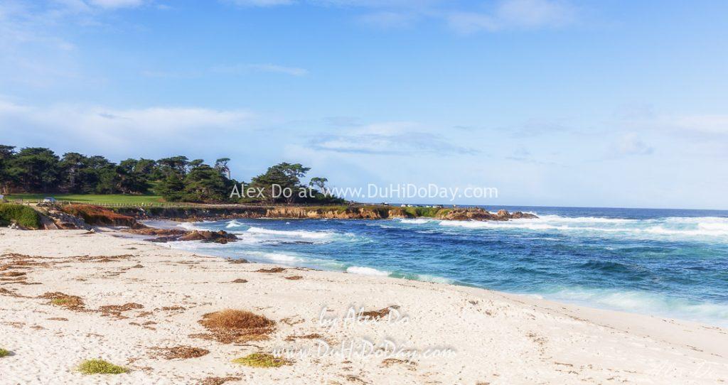 Bãi biển trong xanh ở gần Monterey Bay