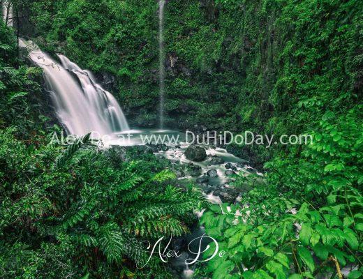 Thác nước ở Hana, Maui, Hawaii
