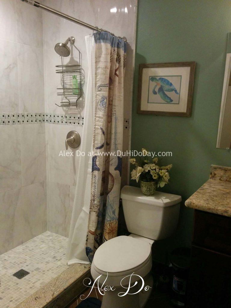 Nhà tắm sau khi sửa