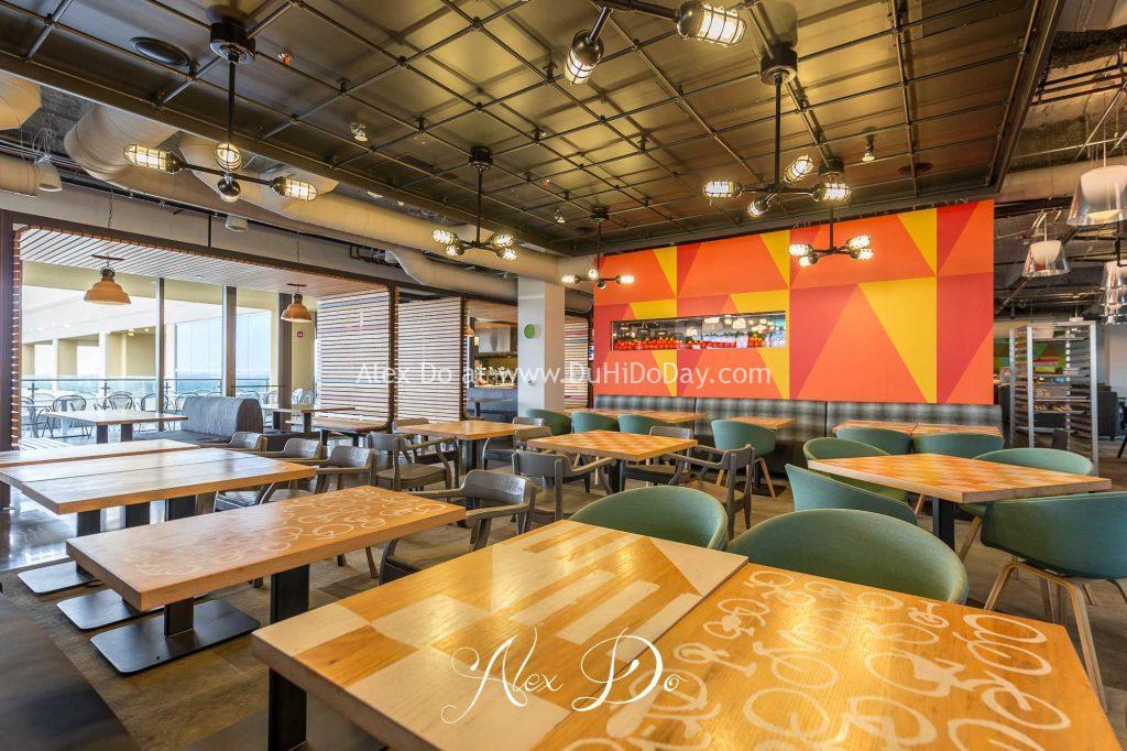 Nhà hàng bên trong Google