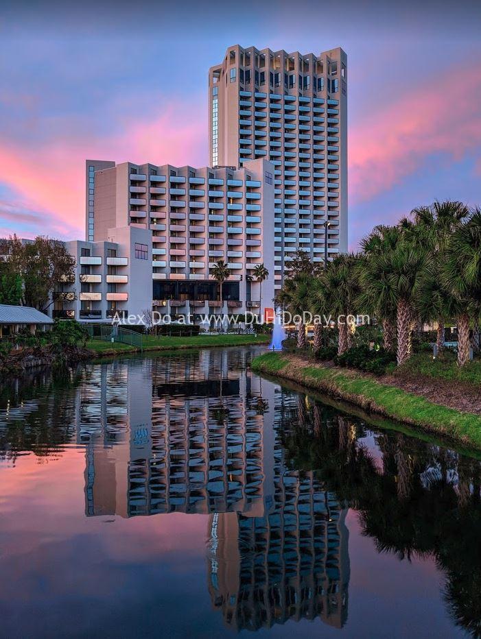 Khách sạn Hilton nơi tui nghỉ ở Orlando