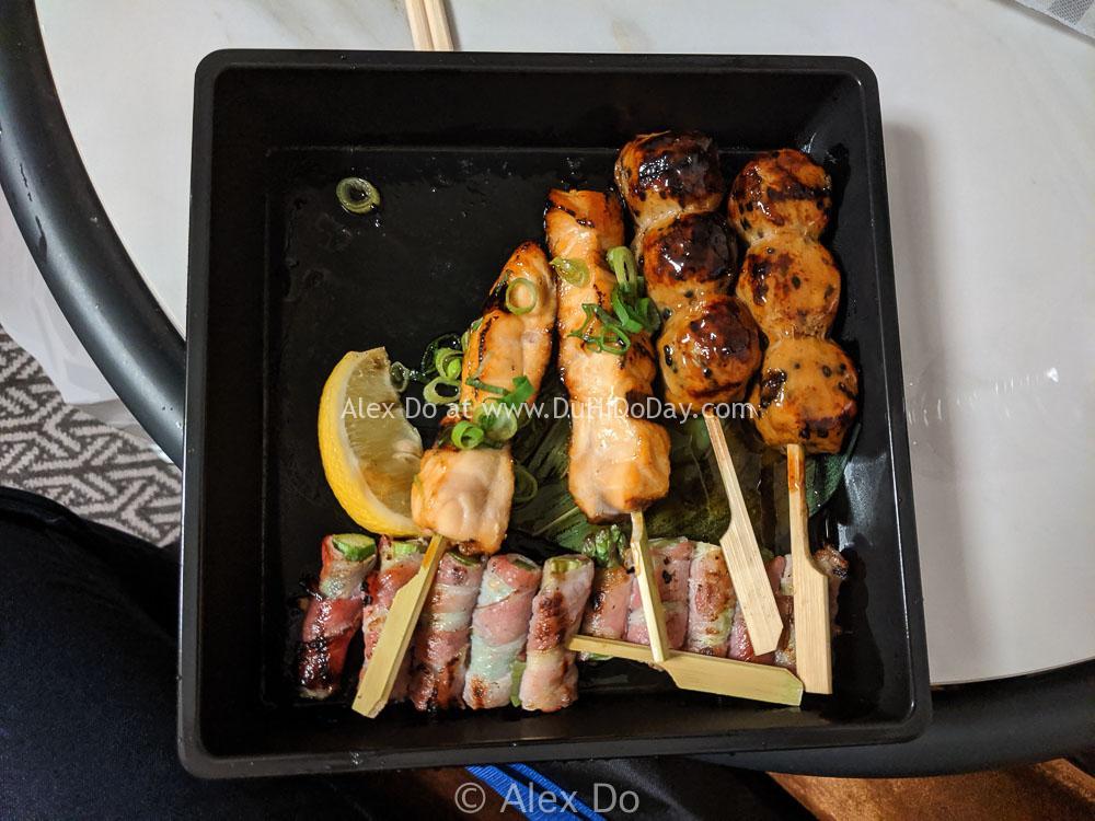 Một phần ăn nhỏ của Stick'n Sushi