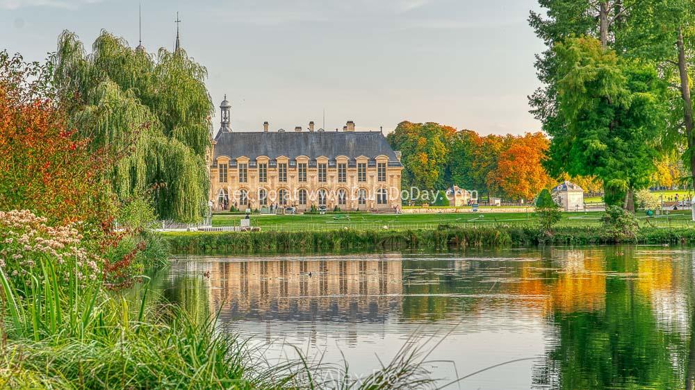Mùa thu bên hồ Chantilly