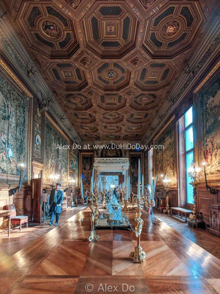 Phòng đón khách ở lâu đài Chantilly