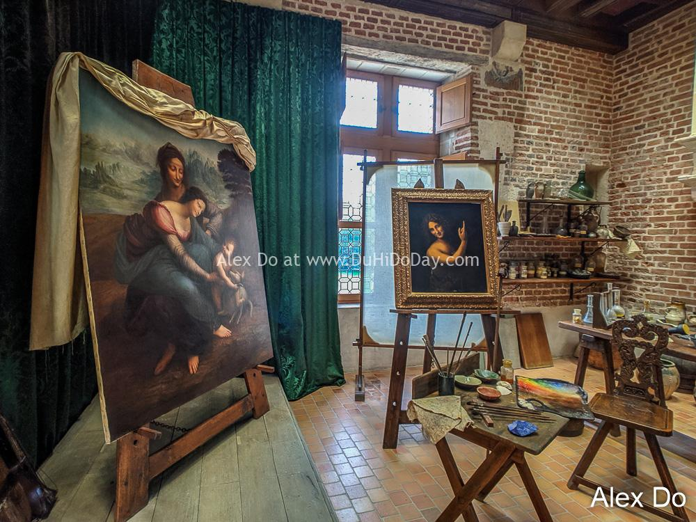 Phòng làm việc của Leonardo