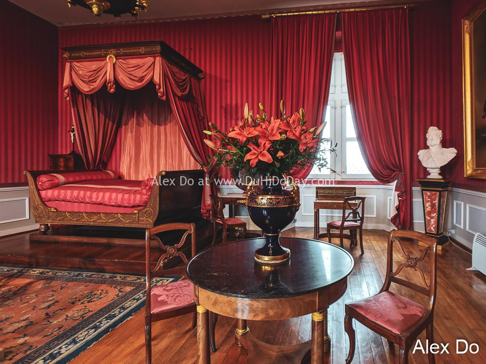 Phòng ngủ hoàng gia Amboise