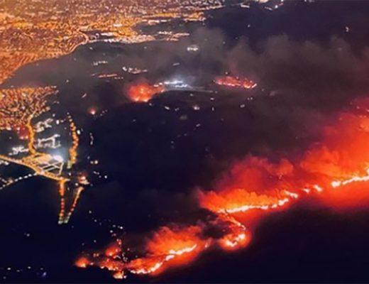 Trận cháy rừng Silverado